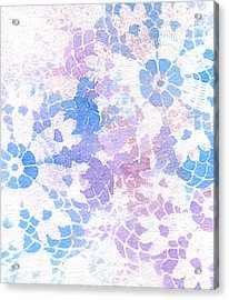 Abstract Vintage Lace Acrylic Print