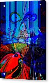Abstract Vol1 Acrylic Print by Marek Czaja