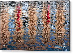 Abstract Water Ripples  Acrylic Print by Tim Gainey