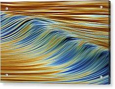 Abstract Wave C6j7857 Acrylic Print by David Orias