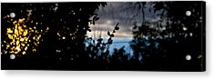 Acrylic Print featuring the photograph Abstract Window View by Atom Crawford