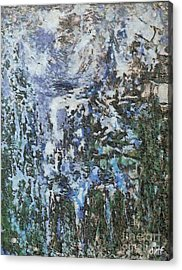 Abstract Winter Landscape Acrylic Print