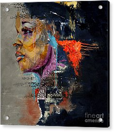 Abstract Women 20 Acrylic Print