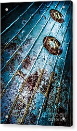 Abstracted Wall Acrylic Print by Michael Arend