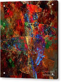 Abstraction 0393 Marucii Acrylic Print
