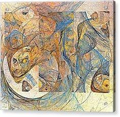 Abstraction 0499 Marucii Acrylic Print