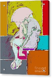 Abstraction 113 Acrylic Print by Patrick J Murphy