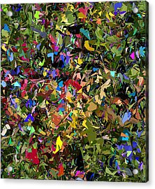 Abstraction 2 0211315 Acrylic Print by David Lane