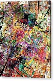 Abstraction 442-09-13 Marucii Acrylic Print