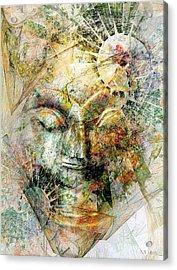 Abstraction 482-10-13 Marucii Acrylic Print
