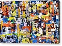 Abstraction 759 - Marucii Acrylic Print