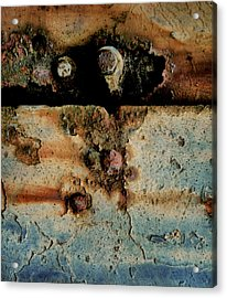 Abstraction Gap Abstraction Acrylic Print by Odd Jeppesen