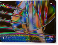 Abstraction In Color 1 Acrylic Print