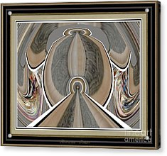Abstraction Nudes An002 Acrylic Print by Pemaro