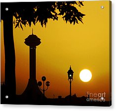 Acrylic Print featuring the photograph Abu Dhabi by Andrea Anderegg