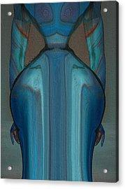 Abuela Acrylic Print by Robert Maestas