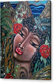 Abundance Acrylic Print by Maya Telford