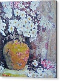 Abundance Of Daisies Acrylic Print