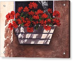 Abundance Acrylic Print by Terri  Meyer