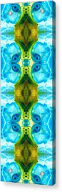 Abundant Life - Pattern Art By Sharon Cummings Acrylic Print