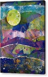 Abundant Moon Acrylic Print