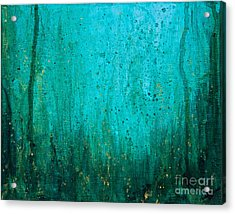 Acrylic Print featuring the painting Abyss by Melissa Sherbon