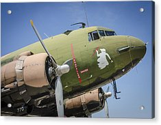 Acrylic Print featuring the photograph Ac-47 Spooky by Bradley Clay