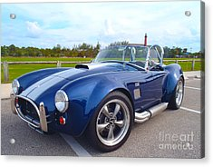 Ac Cobra Acrylic Print by Carey Chen