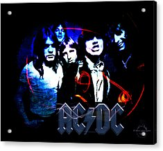 Ac/dc - Rock Acrylic Print