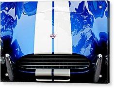 Ac Shelby Cobra Grille - Hood Emblem Acrylic Print
