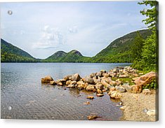 Acadia Bubble Mountains  Acrylic Print