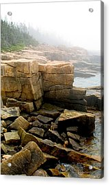 Acadia Morning 7647 Acrylic Print by Brent L Ander
