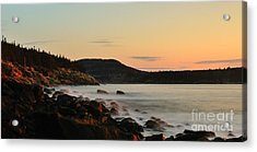 Acadia Morning Acrylic Print by Paul Noble