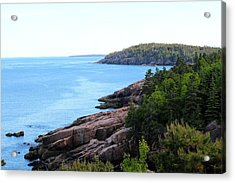 Acrylic Print featuring the photograph Acadia National Park  by Trace Kittrell