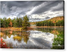 Acrylic Print featuring the photograph Acadia With Autumn Colors by Wanda Krack