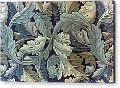 Acanthus Leaf Design Acrylic Print