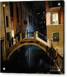 Accademia Charm Acrylic Print by Jacqueline M Lewis