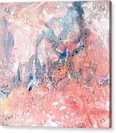 Acrylic Print featuring the painting Acclivity by Ron Richard Baviello