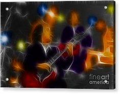 Acdc-angus-95-e5-fractal Acrylic Print by Gary Gingrich Galleries