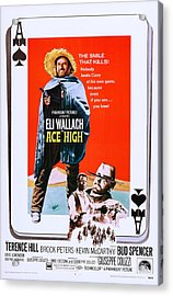 Ace High, Us Poster Art, From Left Eli Acrylic Print by Everett