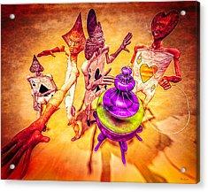 Aces High Acrylic Print by Bob Orsillo