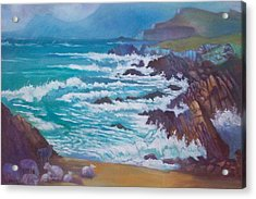 Acrylic Print featuring the painting Achill Ireland by Paul Weerasekera