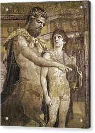 Achilles And Chiron. 45 - 79. Detail Acrylic Print by Everett