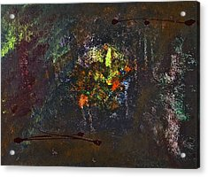 Acrylic Print featuring the painting Acid Burn by Tracey Myers