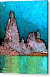 Acid Lake Acrylic Print