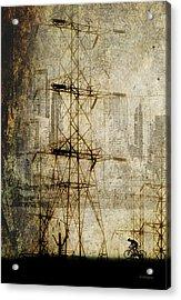 Acrylic Print featuring the photograph Acid Rain by Chris Armytage