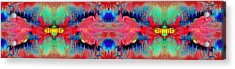 Acidic River Acrylic Print by Sumit Mehndiratta