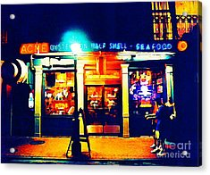 Acme Oyster Shop New Orleans Acrylic Print by John Malone