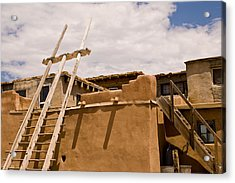 Acoma Building Acrylic Print by James Gay