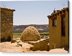 Acoma Oven Acrylic Print by James Gay